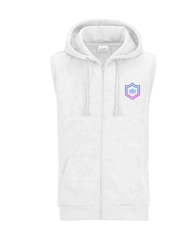 Clash Royale Purple Crown Inspired Sleeveless Zoodie