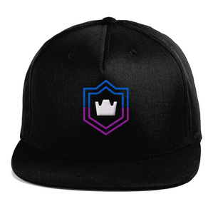 Clash Royale Purple Crown Inspired Flat Peak