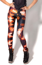 Retro Gamer Tetris Digital Print Colourful Leggings