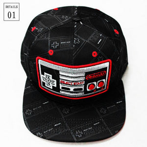 Classic Style Nintendo Cosplay Cap 3D Embroidered Hat