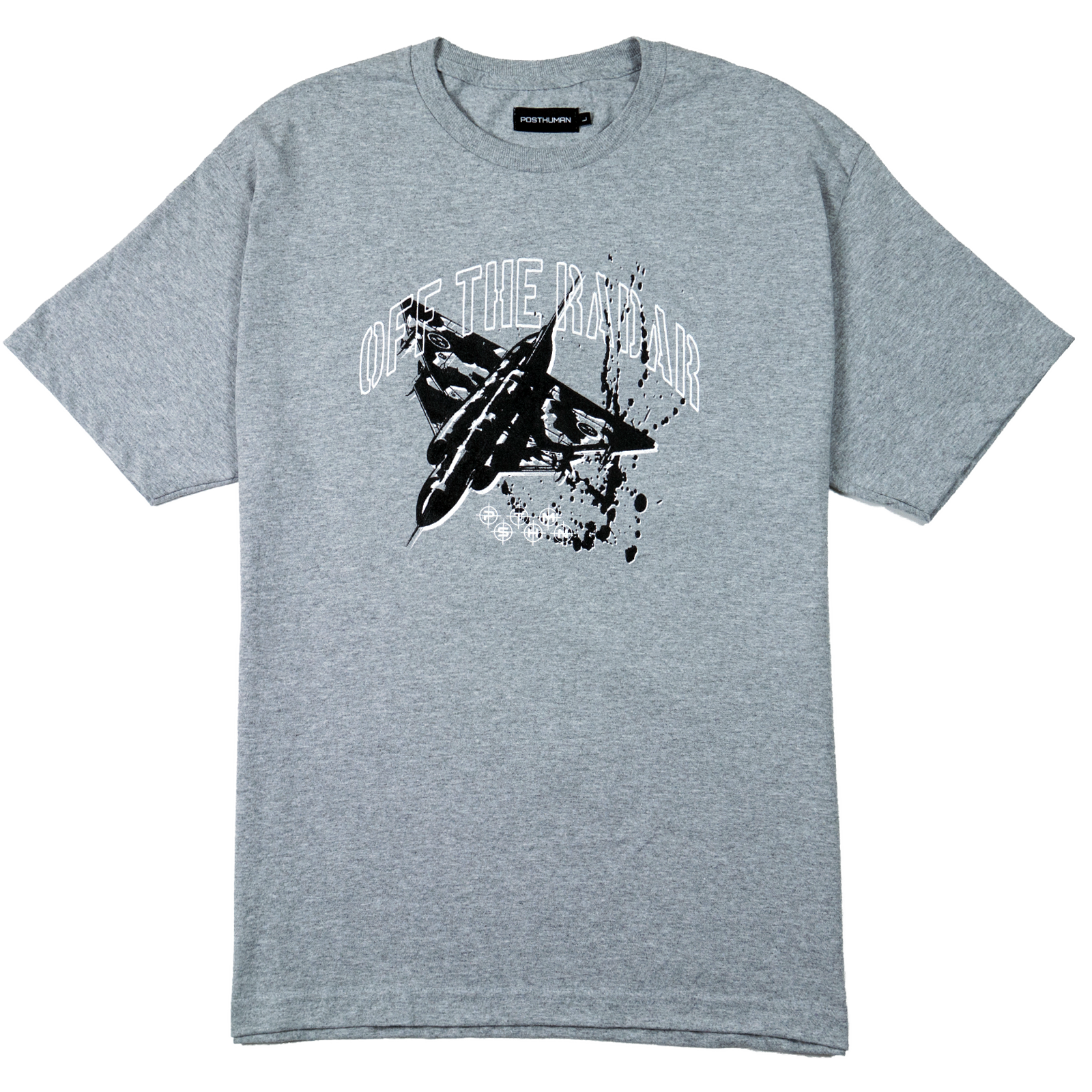 OFF THE RADAR TEE - HEATHER GREY
