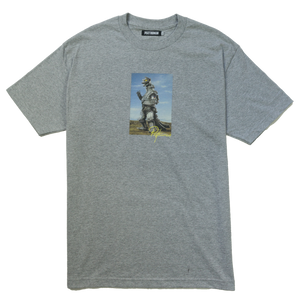 ZILLA TEE - HEATHER GREY