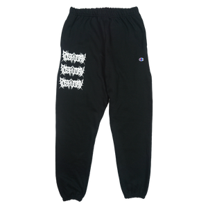 AVARICE SWEAT PANTS - BLACK