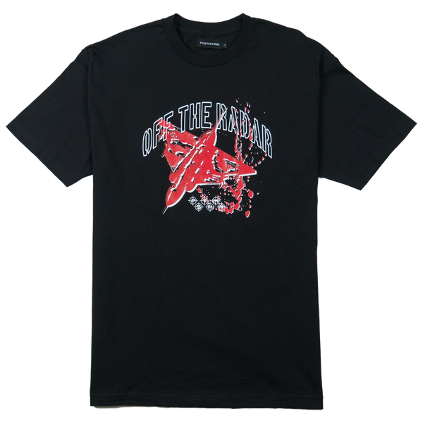OFF THE RADAR TEE - BLACK