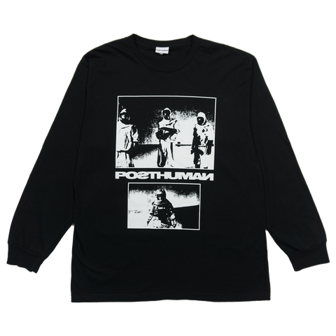 WASTELAND L/S TEE - BLACK