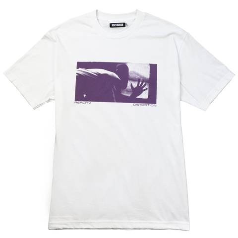 REALITY DISTORTION TEE - WHITE
