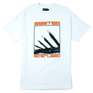 SYSTEM OVERLOAD TEE - WHITE