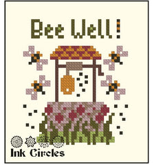 Complimentary chart from Ink Circles - Bee Well