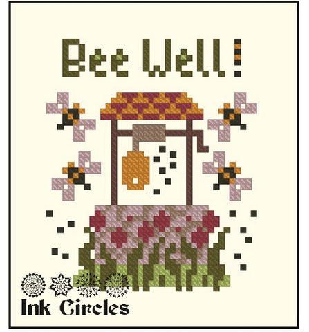 Complimentary chart from Ink Circles: Bee Well