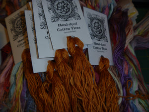 Hand-Dyed Floss - Orange #2
