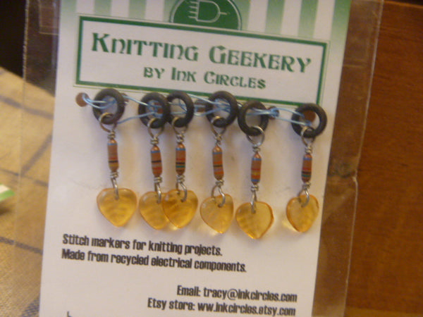 Stitch Markers for Knitting - Electronics