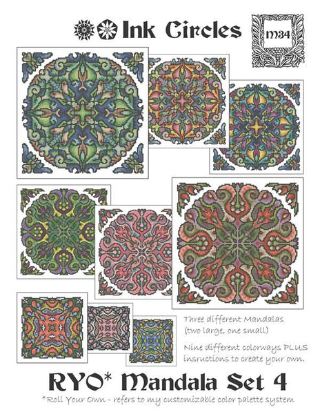 Roll Your Own Mandala Set 4
