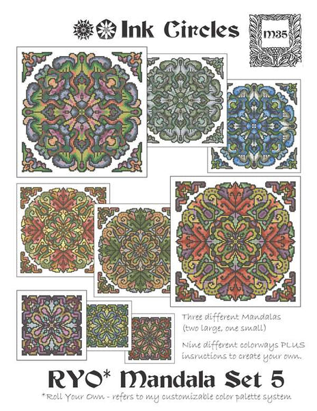Roll Your Own Mandala Set 5