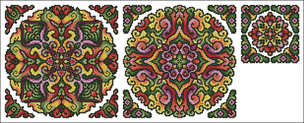 Roll Your Own Mandala Set 6