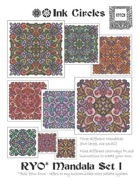 Roll Your Own Mandala Set 1