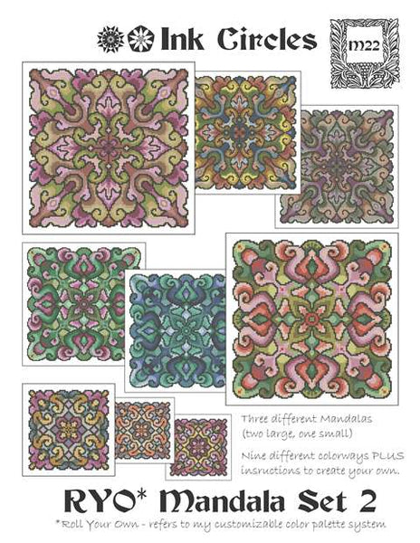 Roll Your Own Mandala Set 2