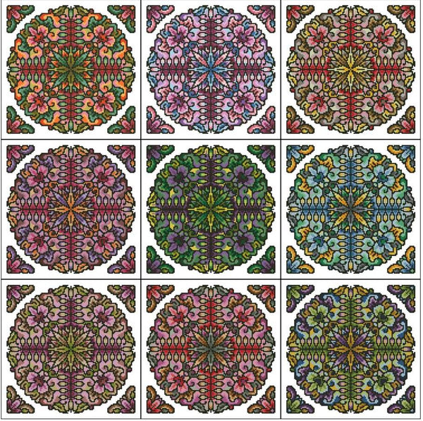 Roll Your Own Mandala Set 7