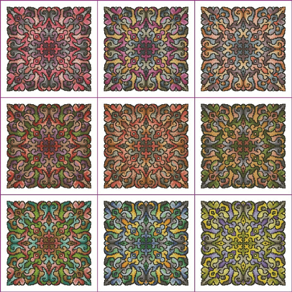 Roll Your Own Mandala Set 3