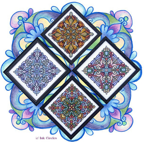 Four Seasonal Mandalas