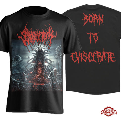Scrotoctomy - Born to Eviscerate (T-Shirt)