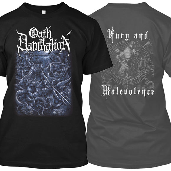 Oath of Damnation - Fury and Malevolence (Shirt)