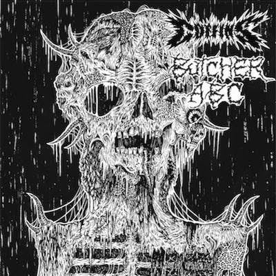 Coffins / Butcher ABC - Split