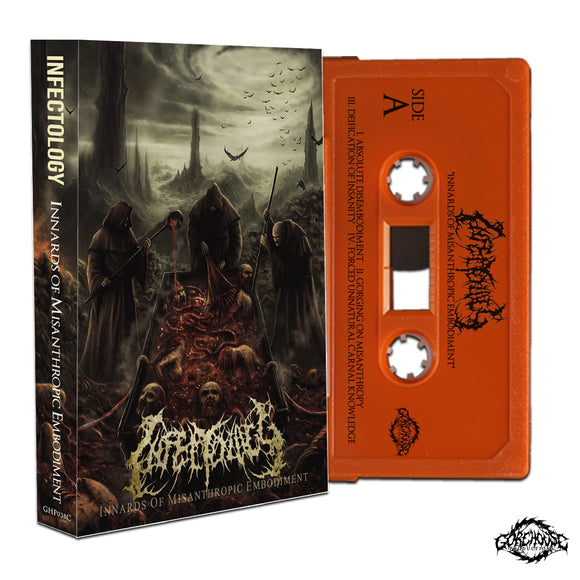 Infectology - Innards of Misanthropic Embodiment (Cassette)