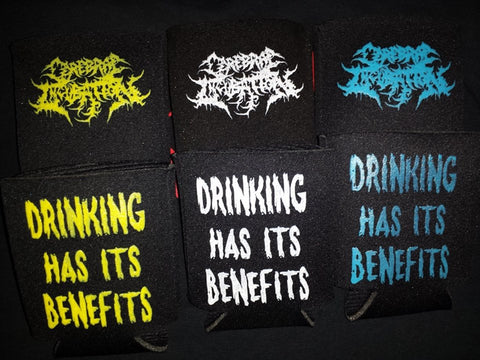 Cerebral Incubation - Drinking Has Its benefits (Koozies)