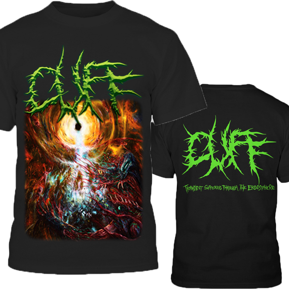 Cuff - Transient Suffering Through the Ergosphere (T-Shirt)