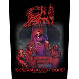 Death - Scream Bloody Gore (Back Patch)