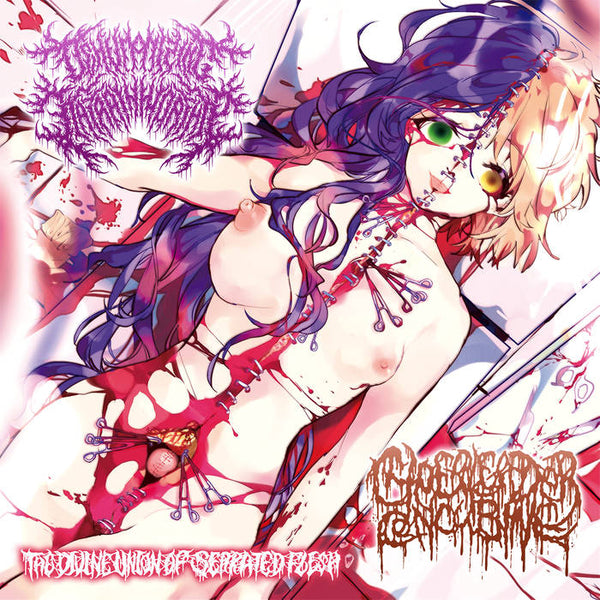 Dehumanizing Itatrain Worship / Cheerleader Concubine  - The Divine Union of Serrated Flesh