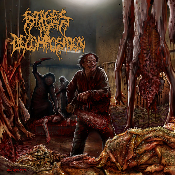 Stages Of Decomposition - Piles Of Rotting Flesh (Cassette)