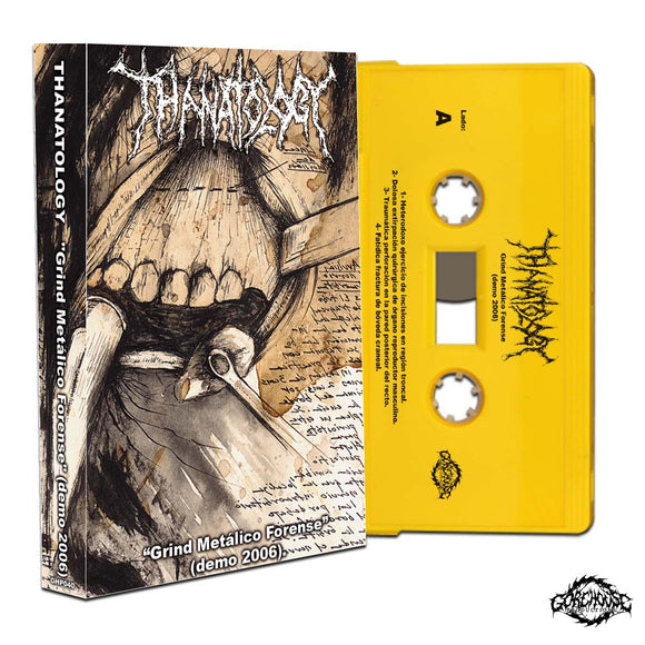 Thanatology - Grind Metalico Forense (Cassette)