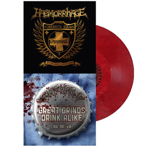 Haemorrhage / Rompeprop - Split (Red Vinyl)