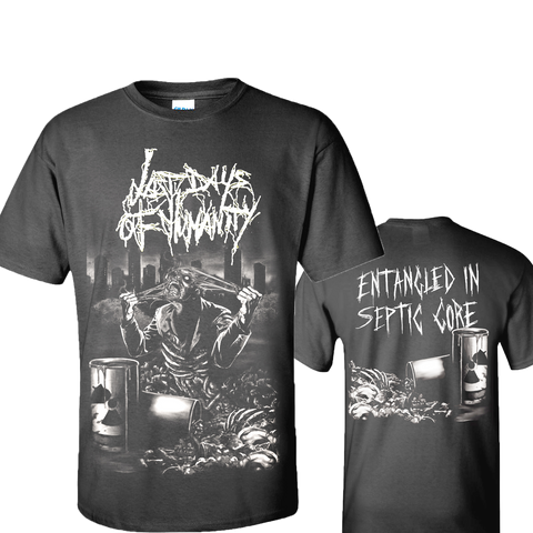 Last Days of Humanity - Entangled in Septic Gore (T-Shirt)