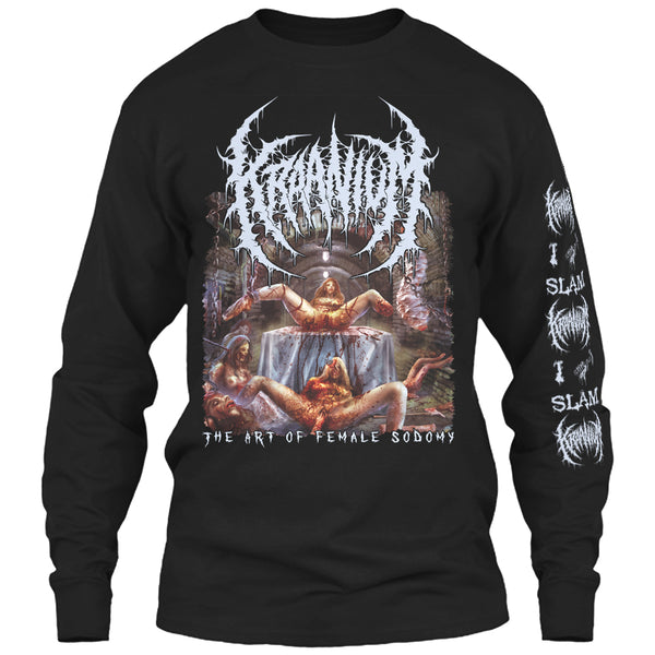 Kraanium - The Art of Female Sodomy (Long Sleeve)