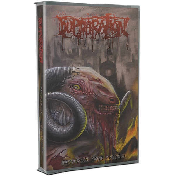 Suppuration - Devouring Your Prayers (Cassette)