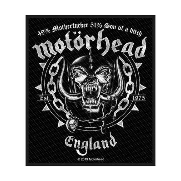 Motorhead - Ball And Chain (Patch)