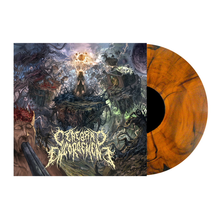 Cerebral Engorgement - Cerebral Chronicles (Orange & Black Vinyl)
