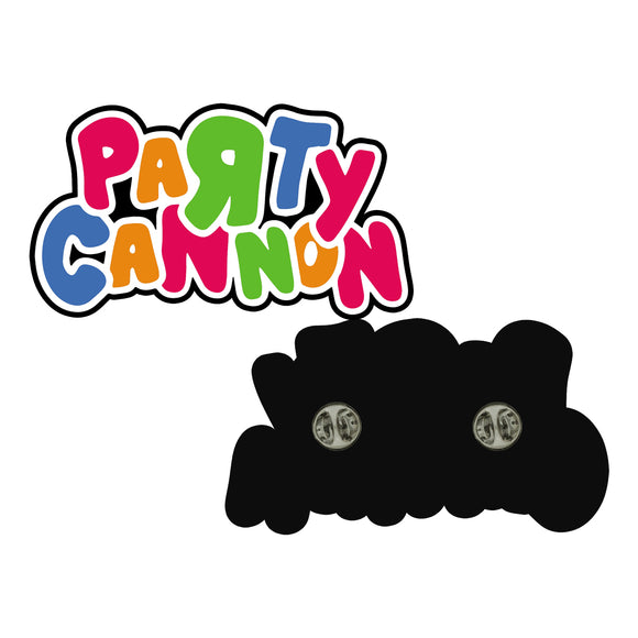 Party Cannon - Logo (Pin)