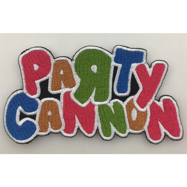 Party Cannon - Logo Patch