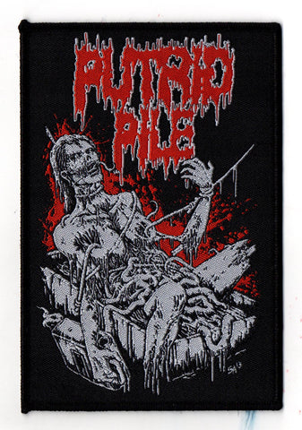 Putrid Pile - Drenched in Gasoline (Patch)