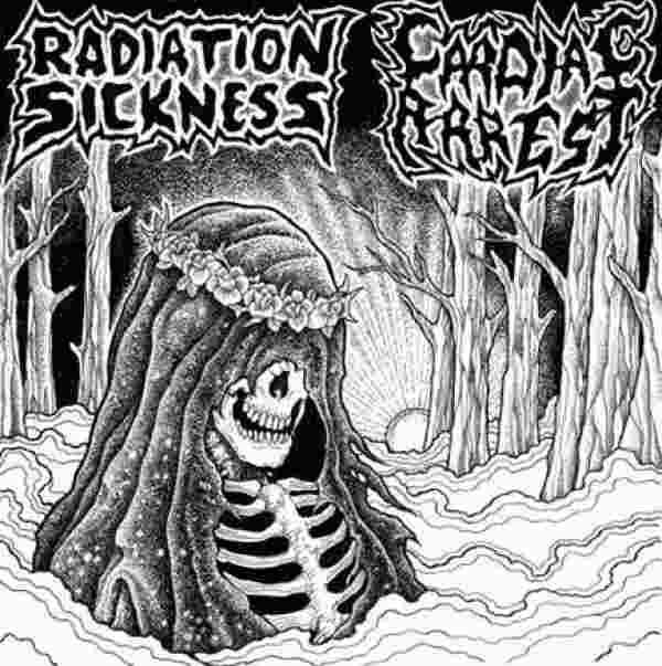 Radiation Sickness / Cardiac Arrest - Split (Vinyl)