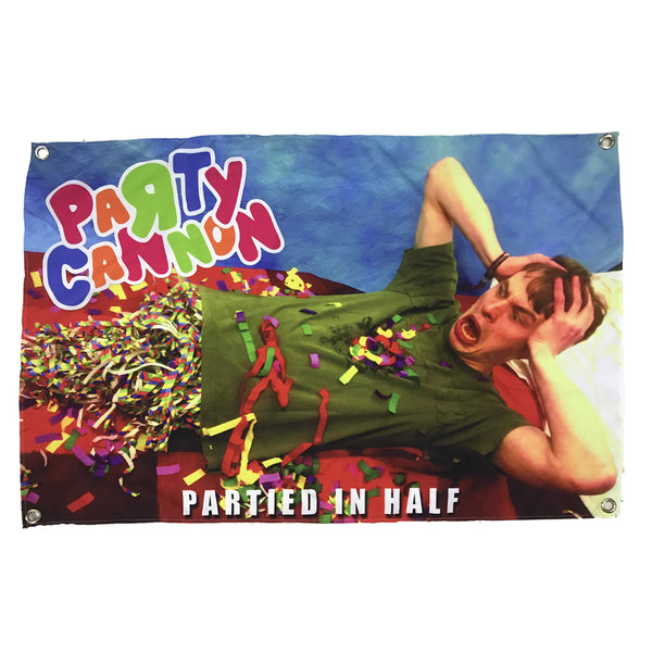 Party Cannon - Partied in Half (Flag)