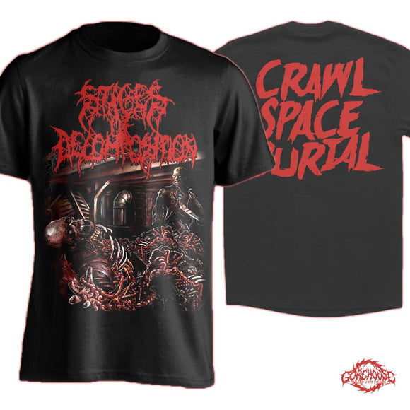 Stages of Decomposition - Crawl Space Burial (T-Shirt)
