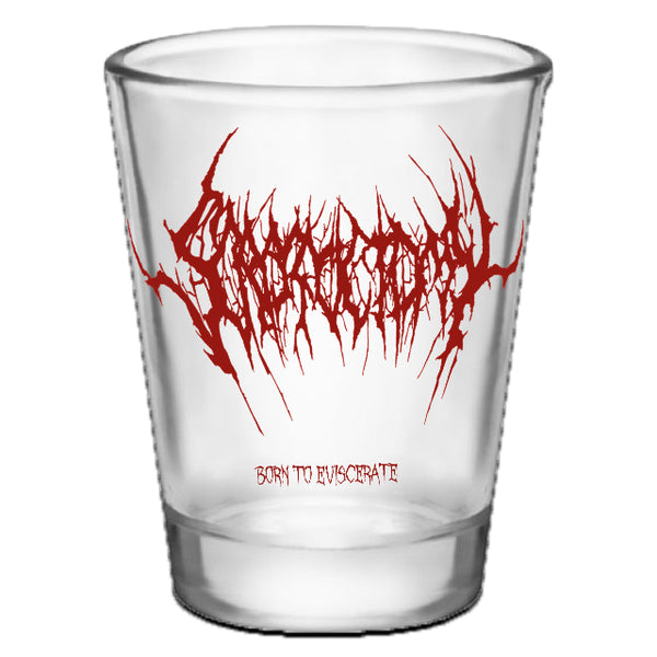 Scrotoctomy - Born to Eviscerate (Tequila Shot Glass)