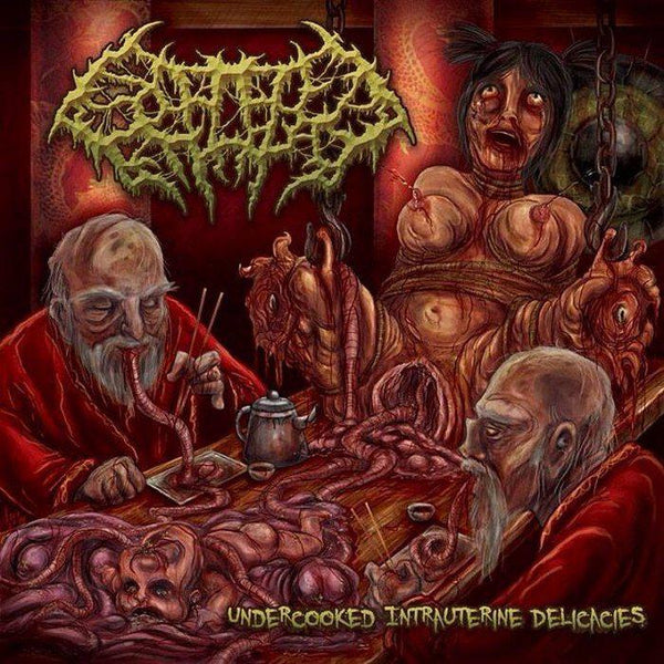 Splattered Entrails - Undercooked Intrauterine Delicacies