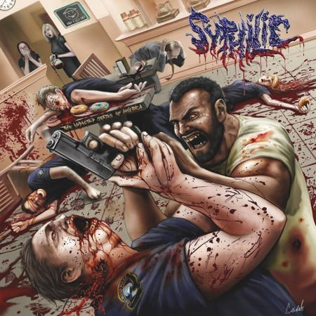 Syphilic - The Indicted States of America (Digipak)