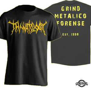 Thanatology - Logo / Yellow (T-Shirt)