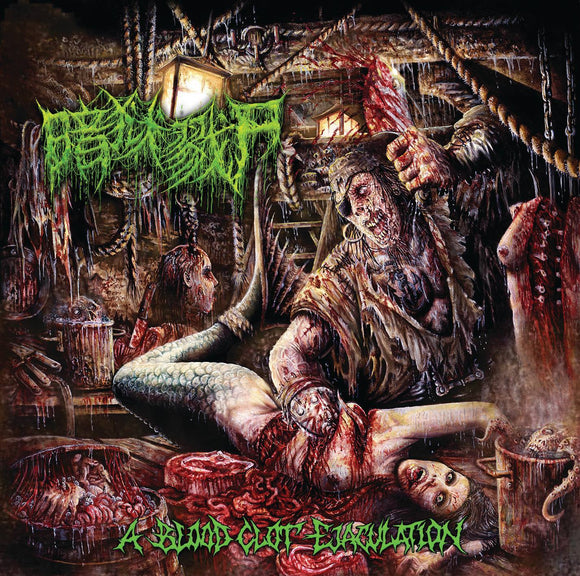 The Dark Prison Massacre - A Blood Clot Ejaculation
